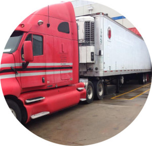 Crescent carriers refrigerated truck